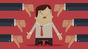 تلنگر به کارکنان و دادن کامنت منفی به آنها
